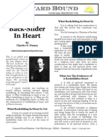 HB Newsletter Volume 11 - Special Edition 02 - The Back-Slider