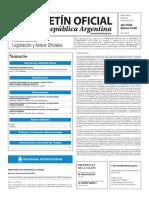 Boletín Oficial de la República Argentina, Número 33.401. 16 de junio de 2016