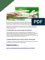 Fitoterapia y Fertilidad