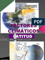 Factores-climáticos Del Norte Del Peru