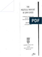 Dunn - The Political Thought of John Locke