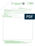 Pediatrics Physical Diagnosis Form Version 3