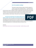Curriculum Development_ Importance of Curriculum in the Academic Setting