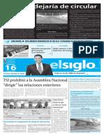 Edición Impresa El Siglo 16-06-2016
