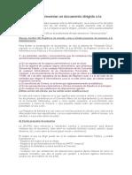 Dónde y Cómo Presentar Un Documento Dirigido a La Administración