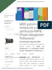 MOOC Gratuito de Introducción a La Certificación PMP_ Jesús Ruiz Nicolás