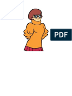 Velma Mask Template