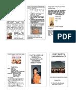 Leaflet Sarapan Pagi