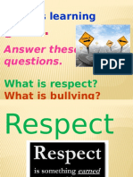 respect bullying