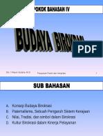 8 BUDAYA BIROKRASI