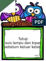 Peraturan Kelas