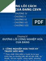 Duong Loi Kinh Te Cua DCS VN