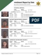 Peoria County Jail Booking Sheet 6/16/2016