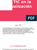 Las TIC en La Globalización