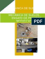 Ensayo de Proctor Modificado (MECANICA DE SUELOS)