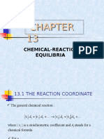 Thermo Chemical Reaction Equilibria