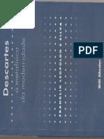 a metafísica da modernidade silva - franklin leopoldo e. descartes (1).pdf