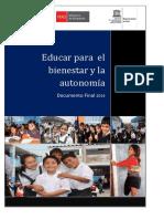 Educar Para El Bienestar y La Autonomia 20 01 2014