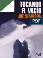 Tocando El Vacío - Joe Simpson