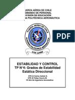 Grado Estabilidad Direccional de un avión CASA 212-300