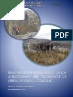 Informe de La Geologia Local de Cerro de Pasco
