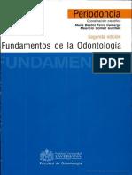libro fundamentos de la odontologia periodoncia ferro camargo