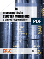 Full Report - Worldwide Investments in Cluster Munitions