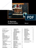 Tc Electronic Toneprint Editor Manual Español