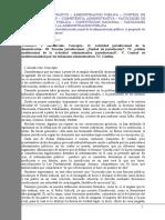 Apuntes Sobre La Actividad Jurisdiccional de La Administración Pública. a Propósito de Los Tribunales Administrativos - Gómez