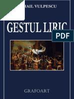 Vulpescu - Gestul liric