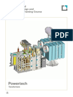 Transformer Manufacturing Training Brochure