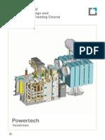 Transformer Manufacturing Training Brochure