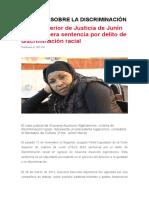 Santillan Morales Noticias Sobre La Discriminaciòn