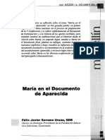 María en el documento de Aparecida. Serrano