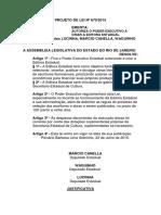 PROJETO DE LEI Nº 670/2015