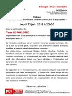 Café Politique Palaiseau juin 2016