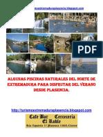 Piscinas Naturales Del Norte de Extremadura Desde Plasencia.