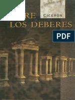 Ciceron - De Los Deberes Ed. de j. Guill