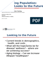 Federal research on aging, memory, Alzheimer's, and brain health