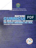 Referencial Curricular Ensino Fundamental