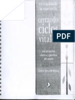 Stecca de Alvizúa - Cómo Aprender de Las Experiencias. Cerrando Ciclos Vitales- Una Perspectiva Sistémica y Gestáltica Del Pasado