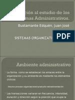SISTEMAS ORGANIZATIVOS Y LAS UNIDADES DE ORGANIZACION Y METODOS (UOM)