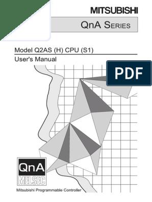 Q2AS(H)CPU(-S1) - User's Manual SH(NA)-3599-K (01.11 ... on