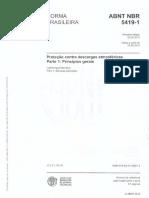 NBR 5419_2015-Parte 1-Proteção Contra Descargas Atmosfericas-Princípios Gerais