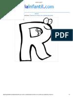 Imprimir Letra R