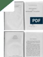 Brochard Victor Estudios Sobre Socrates y Platon Ed Losada