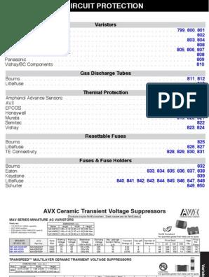 ESD Suppressor TVS 15V 8-Pin Case 0612 T//R 10 Items MGUG060150L4DP