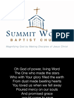 Lyrics Morning Gathering - June 19, 2016