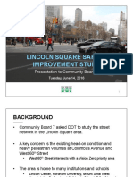 Lincoln Square Safety Improvements Jun2016