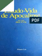 Estudo-Vida de Apocalipse - Vol. 3